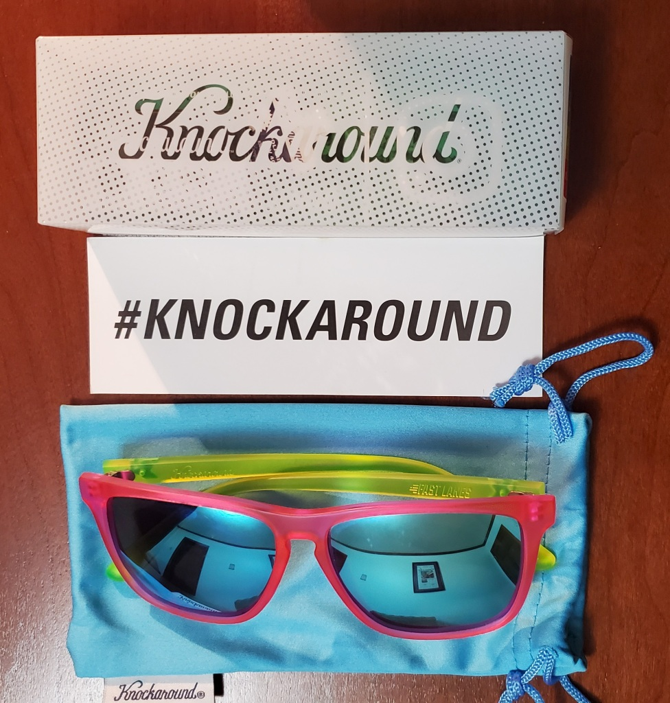 The Knockaround Neon Summers were received for purposes to review as part of being a BibRave Pro.
